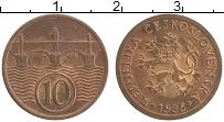 Изображение Монеты Чехословакия 10 хеллеров 1935 Бронза UNC-