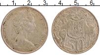 Изображение Монеты Австралия 50 центов 1966 Серебро XF Елизавета II