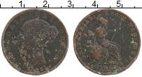 Изображение Монеты Великобритания 1/2 пенни 1843 Медь VF Виктория