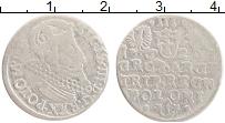 Изображение Монеты Польша 3 гроша 1623 Серебро VF Сигизмунд III