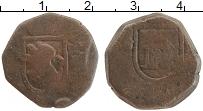 Изображение Монеты Испания 1 мараведи 0 Медь VF Карл II