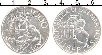 Изображение Монеты Сан-Марино 1000 лир 1994 Серебро UNC- Рабочие специальност