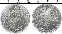 Изображение Монеты Чехия 200 крон 2009 Серебро UNC 400 лет со дня смерт