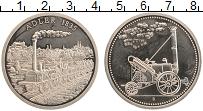 Изображение Монеты Германия Жетон 0 Медно-никель Proof- Первый паровоз Орел