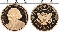 Изображение Монеты США Жетон 0 Латунь Proof- 1-й президент США Дж