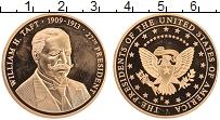 Изображение Монеты США Жетон 0 Латунь Proof- 27-й президент США У