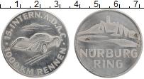Изображение Монеты Германия Жетон 0 Медно-никель XF Автогонки. Нюрнберг