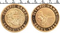 Изображение Монеты Германия Жетон 1988 Латунь UNC- Олимпийские игры в С