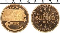 Изображение Монеты Германия Жетон 2003 Латунь Proof- Европа. Ирландия
