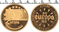 Изображение Монеты Германия Жетон 2003 Латунь Proof- Европа. Финляндия