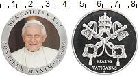 Изображение Монеты Ватикан Медаль 2005 Медно-никель Proof- Цветная. Бенедикт XV