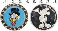Изображение Монеты США Жетон 0 Посеребрение Proof- Цветная печать.Герои