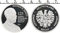 Изображение Монеты Германия Жетон 2013 Посеребрение Proof- Генрих Хертц