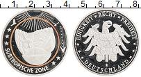 Изображение Монеты Германия Жетон 0 Посеребрение Proof- Климатические зоны З