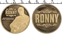 Изображение Монеты Германия Жетон 0 Позолота Proof- Ронни