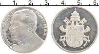 Изображение Монеты Ватикан Жетон 0 Посеребрение XF Иоанн Павел II