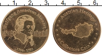 Изображение Монеты Австрия Жетон 0 Латунь UNC- Вольфганг Амадей Моц