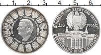 Изображение Монеты Германия Жетон 1990 Посеребрение UNC- Рихард фон Вейсзакер