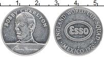 Изображение Монеты Великобритания Жетон 1970 Алюминий UNC- Бобби Чарльтон