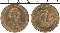 Изображение Монеты Германия Жетон 0 Латунь XF Джеймс Кук