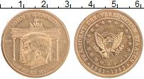 Изображение Монеты Германия Жетон 0 Латунь XF Джон Кеннеди