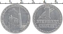 Изображение Монеты Австрия 1 грош 1950 Алюминий XF Собор Святого Стефан
