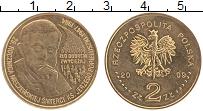 Изображение Монеты Польша 2 злотых 2009 Латунь UNC- Ежи Попелушко