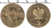 Изображение Монеты Польша 2 злотых 2010 Латунь UNC- Горлице