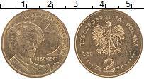 Изображение Монеты Польша 2 злотых 2011 Латунь UNC- Игнаций Ян Падеревск
