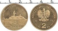 Изображение Монеты Польша 2 злотых 2013 Латунь UNC- Ракетный катер Гдыня