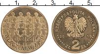 Продать Монеты Польша 2 злотых 2013 Латунь