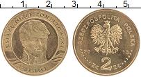Изображение Монеты Польша 2 злотых 2013 Латунь UNC- Юзеф Понятовский
