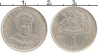 Изображение Монеты Чили 1 эскудо 1972 Медно-никель UNC- Хосе Мигель Каррера