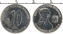 Изображение Монеты Эквадор 10 сентаво 2000 Железо UNC- Эухенио Эспехо