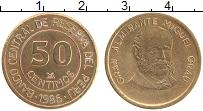 Изображение Монеты Перу 50 сентим 1986 Латунь XF Мигель Грау