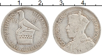 Изображение Монеты Родезия 1 шиллинг 1936 Серебро XF- Георг V