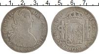 Изображение Монеты Мексика 8 реалов 1809 Серебро XF- Испанская колония. Ф