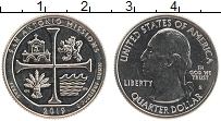 Изображение Монеты США 1/4 доллара 2019 Медно-никель UNC S Миссия Сан Антонио