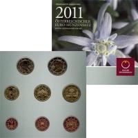 Изображение Подарочные монеты Австрия Евронабор 2011 2011  UNC