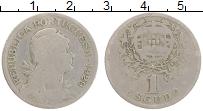 Изображение Монеты Португалия 1 эскудо 1929 Медно-никель VF Герб