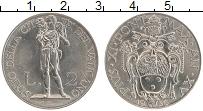 Изображение Монеты Ватикан 2 лиры 1936 Медно-никель XF Пий XI