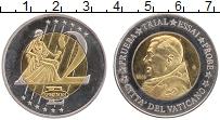 Изображение Монеты Ватикан 2 евро 2005 Биметалл XF Проба