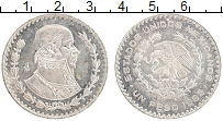 Изображение Монеты Мексика 1 песо 1965 Серебро XF Хосе Морелос