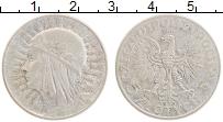 Изображение Монеты Польша 5 злотых 1934 Серебро XF Святая Ядвига