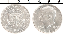 Изображение Монеты США 1/2 доллара 1964 Серебро XF Джон Кеннеди