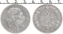 Изображение Монеты Австрия 5 крон 1900 Серебро XF Франс Иосиф I