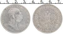 Изображение Монеты Австрия 5 крон 1909 Серебро XF Франц Иосиф I