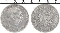 Изображение Монеты Австрия 5 крон 1900 Серебро XF Франц Иосиф I