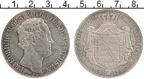 Изображение Монеты Саксония 2 талера 1847 Серебро XF F Фридрих Август V