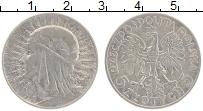 Изображение Монеты Польша 5 злотых 1933 Серебро XF Ядвига